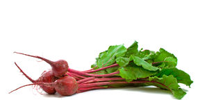 Three Beetroot over white Royalty Free Stock Photos