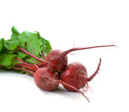 Three Beetroot over white Royalty Free Stock Images