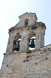 Three Bell Tower, Norcia. Stock Image