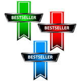 Three bestseller icons Stock Photography