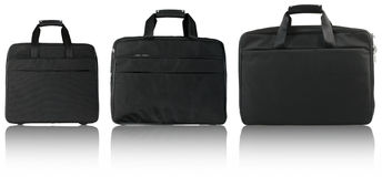 Three black bags Royalty Free Stock Image