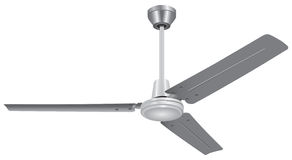 Three-Blade Ceiling Fan Stock Photography