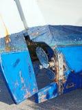 Three Blade Propeller, Greek Fishing Boat Royalty Free Stock Image