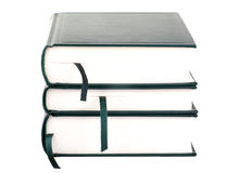 Three blank books Stock Photography