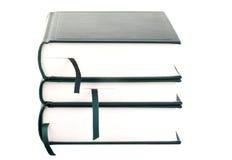 Three blank books Stock Photography