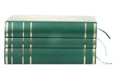 Three blank books Stock Photos