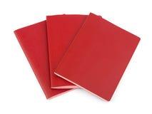 Three Blank Passports Stock Images