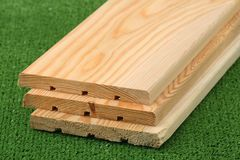 Three boards Stock Photography