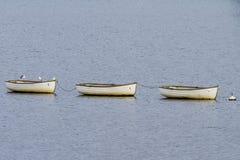 Three Boats Stock Photos