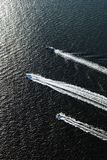 Three boats. Royalty Free Stock Photo