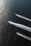 Three boats. Royalty Free Stock Photo