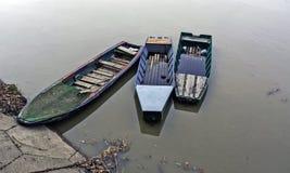 Three boats Stock Photography