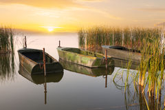 Three boats Royalty Free Stock Photography
