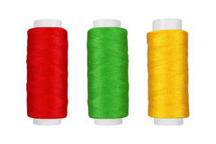 Three bobbin thread Royalty Free Stock Image