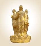 Three bodies buddha Stock Image