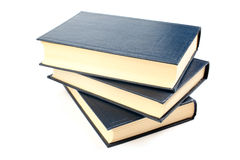 Three books. Royalty Free Stock Photography