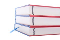 Three books Stock Photos