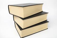 Three books Royalty Free Stock Photos