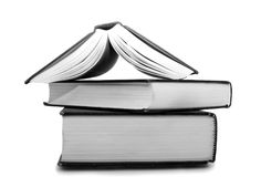 Three books Royalty Free Stock Images