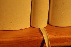Three books close up Stock Photo
