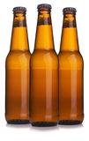 Three Bottle of beer Royalty Free Stock Photo