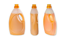 Three bottle with Fabric Softener Royalty Free Stock Image