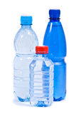 Three bottle of water Stock Photography