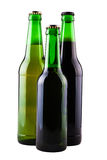 Three bottles of beer Royalty Free Stock Image