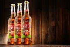 Three bottles of Desperados beer Stock Photo