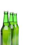 Three bottles of light beer Royalty Free Stock Image