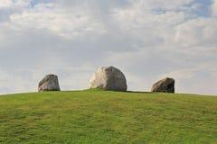 Three Boulders Royalty Free Stock Photo