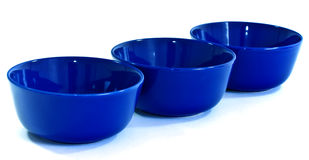 Three bowls Stock Photography