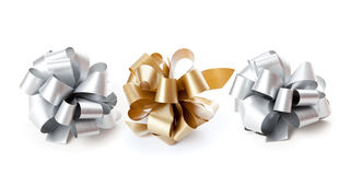 Three bows royalty free stock images