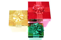 Three Boxes Royalty Free Stock Photography