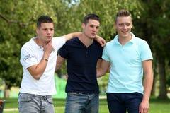 Three boys Stock Photos
