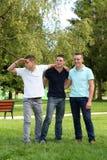 Three boys Royalty Free Stock Photography