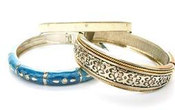 Three Bracelets Stock Photo