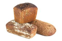 Three of bread Stock Photo