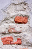 Three brick. Red brick texture can be used as a background Stock Image