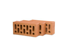 Three bricks Stock Images