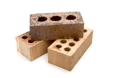 Three Bricks Royalty Free Stock Photography