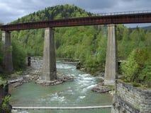 Three bridges Royalty Free Stock Image