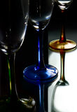 Three Bright glass Royalty Free Stock Photos