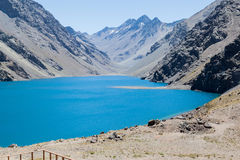 Three Brothers and Inca Lake Chile Royalty Free Stock Photos