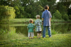 Three Brothers Royalty Free Stock Image