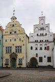 Three Brothers, Riga Royalty Free Stock Photos