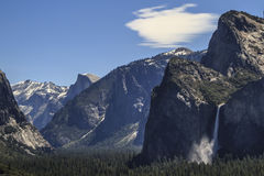 The Three Brothers - Yosemite Royalty Free Stock Images