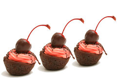 Free Three Brownie Bites In A Row Stock Photos - 6708003