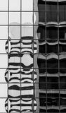 Three Bubbles. Downtown office building reflection in Portland Oregon Stock Images