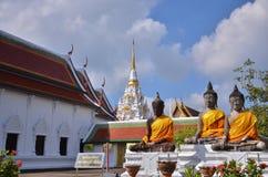 Three Buddha statues Royalty Free Stock Photos